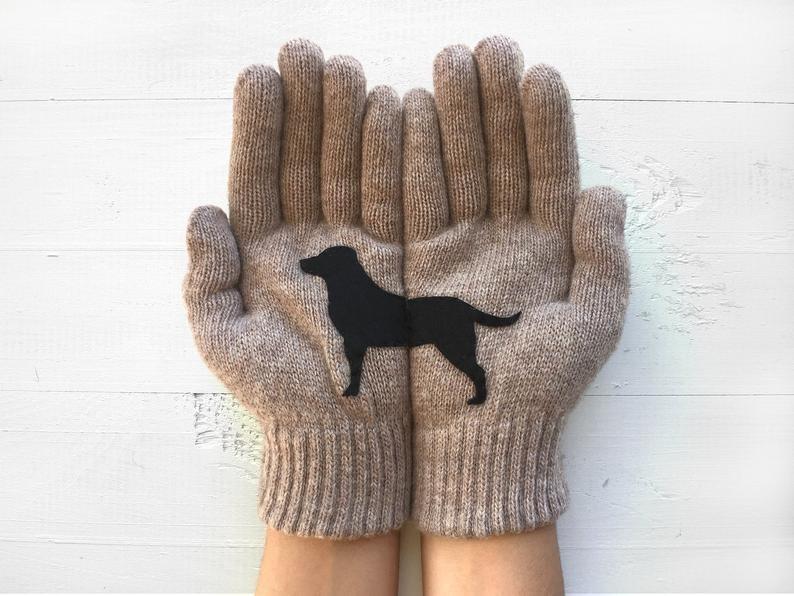 Labrador handschoenen cadeau´s voor Labrador