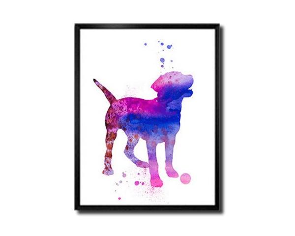 Labrador Print Art cadeau´s voor Labrador