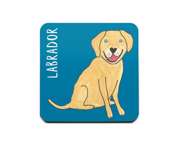 Labrador onderzetter cadeau´s voor Labrador