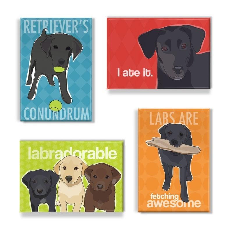 Labrador magneten cadeau´s voor Labrador