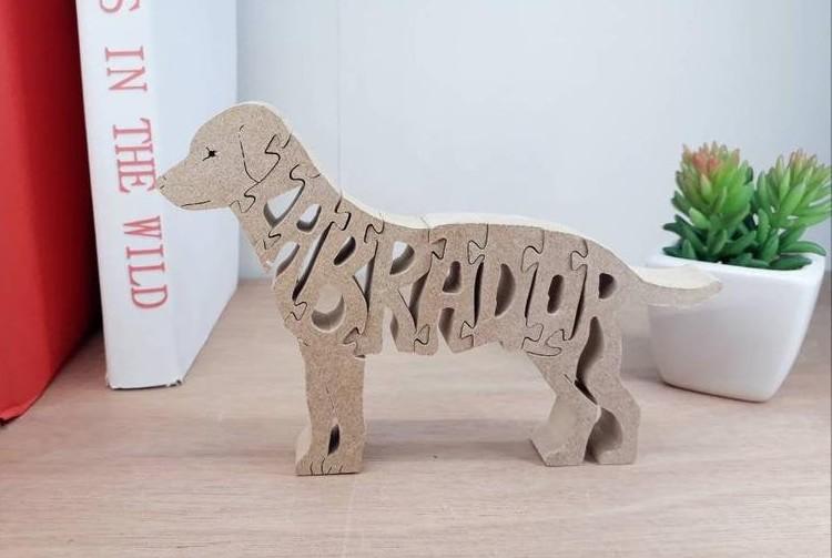 Labrador puzzle cadeau´s voor Labrador