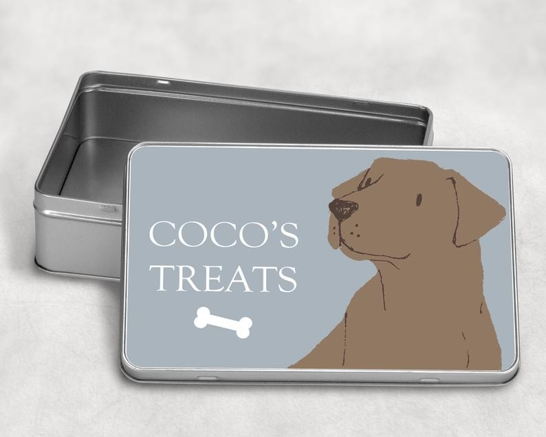 Labrador koekjeblik cadeau´s voor Labrador